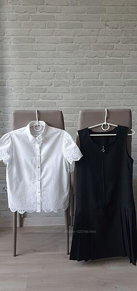 Классная блузка George 9-11л. ,состояние новой