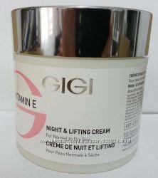 GIGI Vitamin E - Night & Lifting Cream Крем ночной лифтинговый для норма