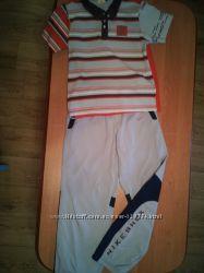 Комплект футболка OUTVENTURE 152см. , штаны NIKE 10-12 л. 140-152см.