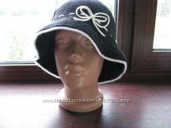 Модная теплая шляпка