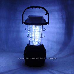Фонарь туристический светодиодный 36 LED на солнечной батарее