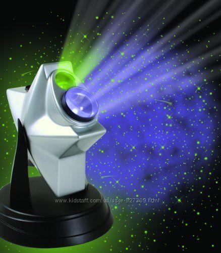 Проектор звездного неба домашний планетарий Laser Starsl