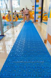 Модульное покрытие для саун, аквапарков, бассейнов