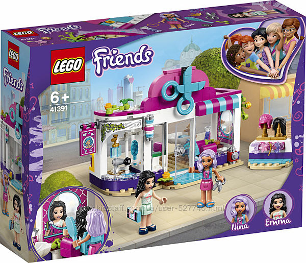41391 LEGO Friends Перукарня в Хартлейк-Сіті