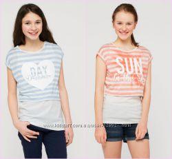 Комплект-двійка топ футболка C&A
