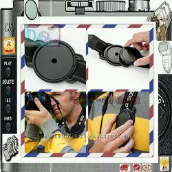Универсальный  держатель-пряжка анти-потеряшка крышки объектива  52 мм