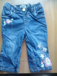 джинсы для принцессы от 3мес до 18мес 3шт