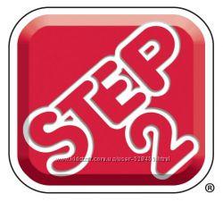 Детские парты, мольберты, кухни, кровати, детские площадки бренда Step2.