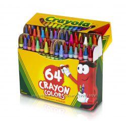 Crayola Восковые карандаши 64  шт