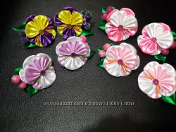 резиночки цветочные