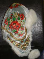 Зимняя шапка ушанка маки