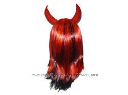 Новогодний парик Дьяволицы