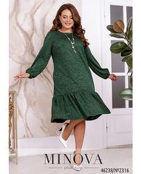Коллекция элегантных демисезонных платьев размеры 50-68