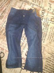 джинсики на трикотажной подкладке 92 р. новые