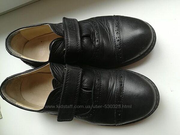 туфлі шкіряні хлопчачі