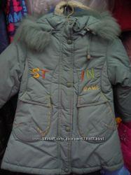 Пальто зимнее для малышки.