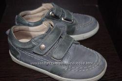 Шкіряні туфельки для хлопчика 27р 18см