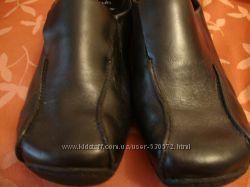 Туфли черные Clarks, 37-38.