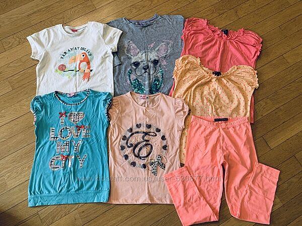 Фирменные футболки Gap, Next, Children Place, Zara, Atmosphere