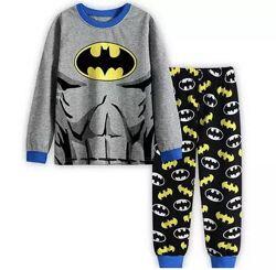 Детские хлопковые пижамки для мальчиков и девочек