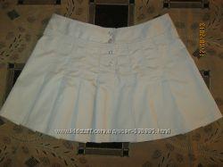 Классная коттоновая юбка-плиссе OASIS.