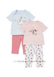 Пижамы для девочек GEORGE, F&F Англия