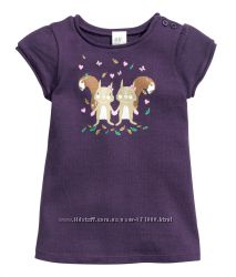 Платья туники для маленьких принцесс H&M