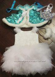 Прокат модной Снежинки или Звездочки 3-5 лет 100-118 см