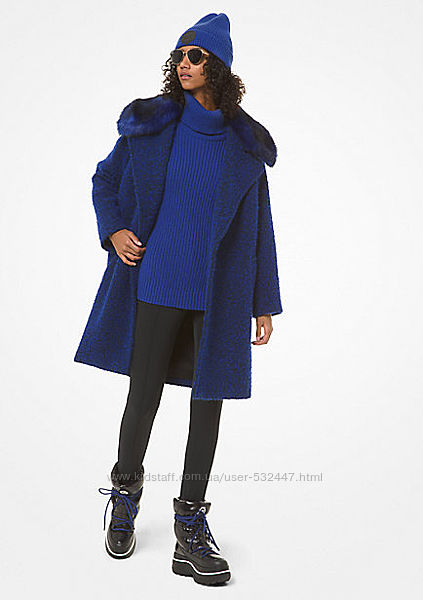 MICHAEL KORS, пальто букле, L