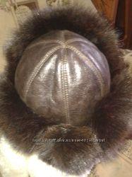 шапка ушанка натуральый мех