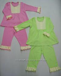 пижамы с длинным рукавом интерлок под заказ