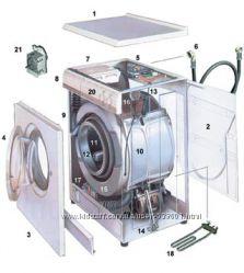 Ремонт стиральных машин в Киеве, замена подшипников в стиральной машинке