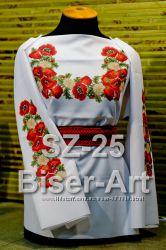 Блузы под вышивку