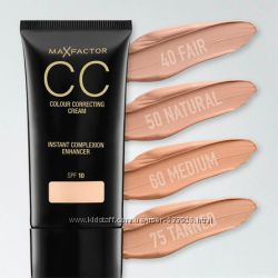 Max Factor . CC Colour Correcting Cream - Корректирующий тонал.  оригинал