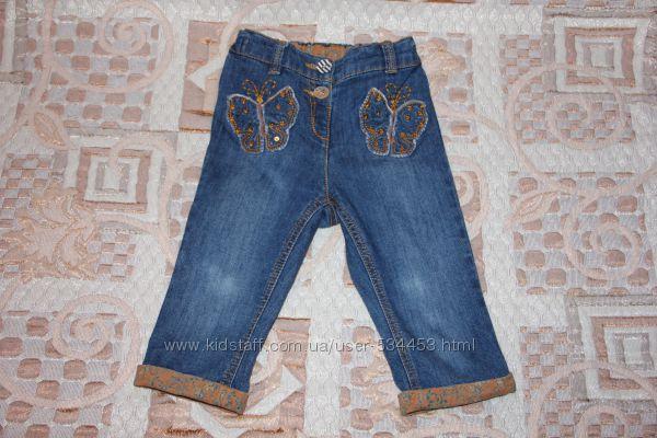 Красивые джинсовые капри Next