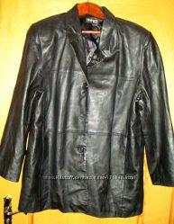 Куртка кожаная женская Style&Co, БУ в отличном состоянии