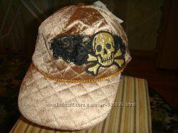 Американская бейсболка, кепка с черепом