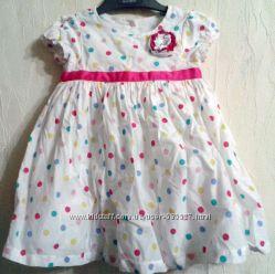 Платье летнее для девочки нарядное Mothercare