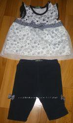 Комплект Flexi сарафан и бриджи для девочки