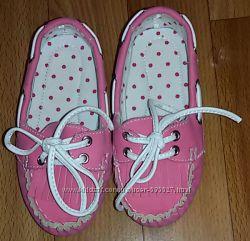 Новые мокасины туфли для девочки Mothercare