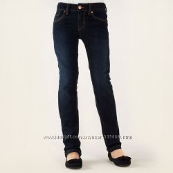 Красивые джинсы Сhildrens Рlace США на девочку 4-5 лет. Посадка высокая