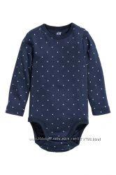 Бодики H&M для мальчиков и девочек