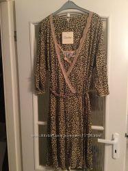 Женский пеньюар комплект сорочка с халатиком