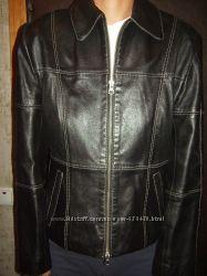 Кожаная куртка, размер S