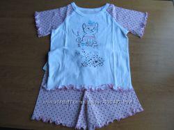 Пижама новая для девочки р.  98, 104, 128