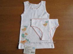 Комплект нижнего белья для девочки р. 92-98, 104-110