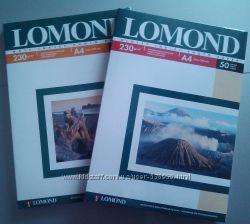 Фотобумага Ломонд, глянцевая бумага