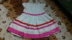 Нарядное платье для девочки 1 год от Carters