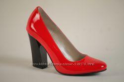 Туфли красные лаковые. 37 р. Последние