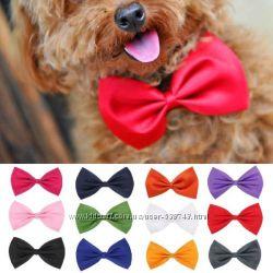 Модный аксессуар Бабочка галстук для собак котов одежда